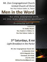 Men in the Word Bible Study Flyer
