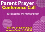 MTZ Parent Prayer Call