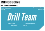 Introducing MTZ Community Drill Team