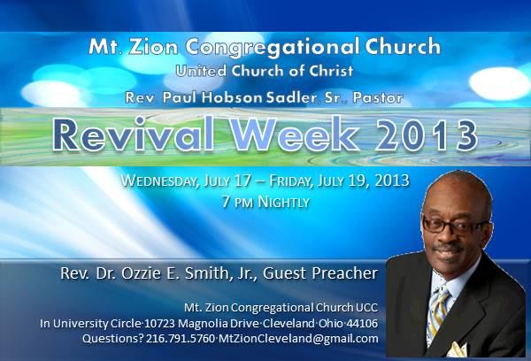 mark your calendars  revival